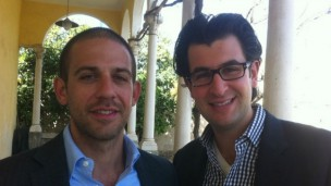 Brian Rosenzweig, left, and Daniel Frankenstein founded Janvest to help Americans access the enormous potential in the Israeli high-tech market.