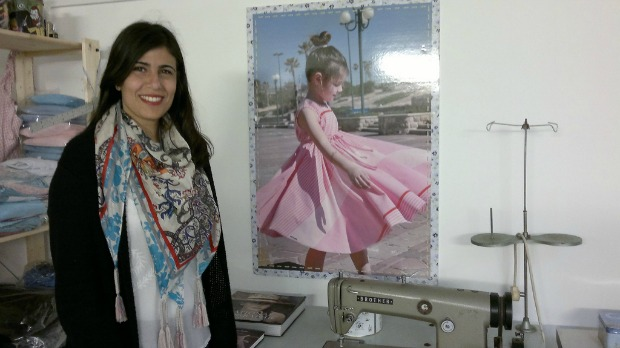 Children's designer Sarit Lulae.
