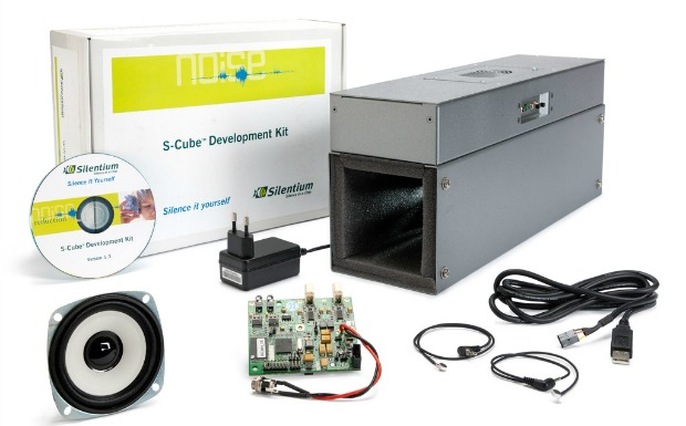 Silentium's customizable electronic controller kit for sound-proofing data servers.