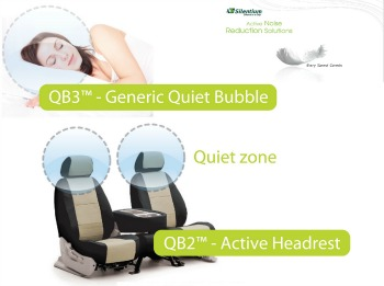 Silentium's Quiet Bubble will make driving and flying a quieter experience.
