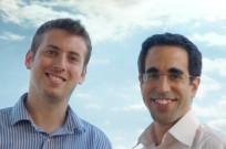 Skycure founders Yair Amit, left, and Adi Sharabani.