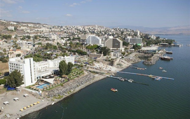 Aerial view of Tiberias. Photo by Itamar Grinberg