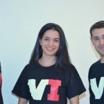 VI founders, from left, Meir Samson, Racheli Arieli and Eliyahu Lev.
