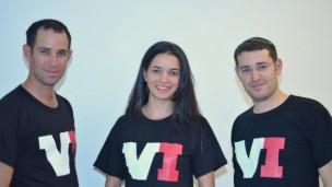 VI founders, from left, Meir Samson, Racheli Arieli and Eliyahu Lev.