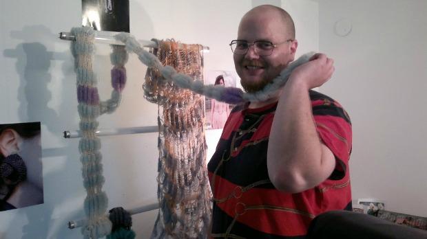 Textile designer Ziv Ben Gal.