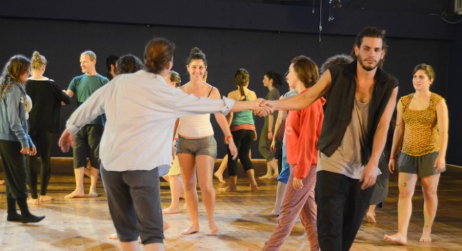 """""""We're not just about giving performances. We teach dance, movement and healing."""""""
