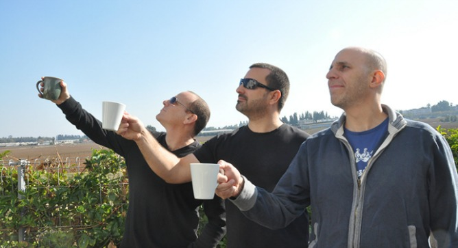 From left, Kitchenbug founders Dror Daliot, Tal Rosenberg and Ofir Shahar.