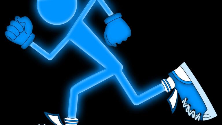Glow Run in Beersheva (Shutterstock.com)