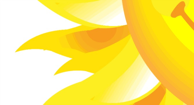 Here comes the sun. Image via Shutterstock.com