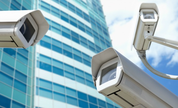 The US and UK have more video surveillance cameras per head than anywhere else in the world. Image via Shutterstock.