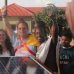 Abramowitz championing solar energy in Rwanda.