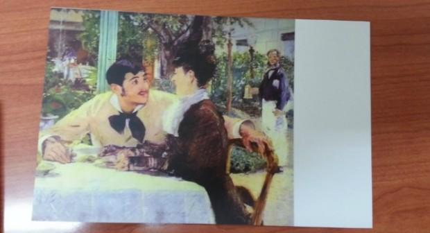 This is one of the cards included. Can you name the painter?