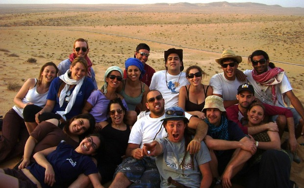 Ayalim students in Be'er Milka in the Negev.