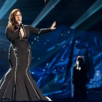 Israeli representative Moran Mazor hopes to wow fans at the Eurovision Song Contest's semi-finals tonight. (Sander Hesterman/EBU)