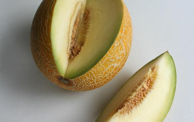 A Galia melon.