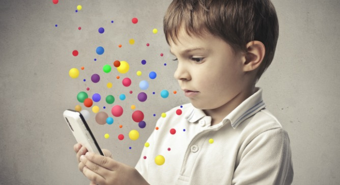 People are concerned about radiation from cell phones, especially for kids. Image via Shutterstock.com
