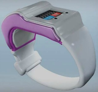 It looks like a watch, but it's a sophisticated blood-oxygen and heart-rate monitor.