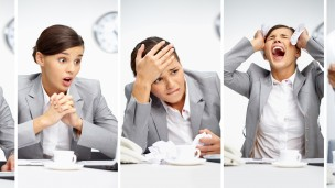 An Israeli study shows that employees who felt either overworked or underworked were more susceptible to diabetes. (Shutterstock.com)