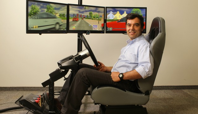 Amnon Shashua of Mobileye. Photo by Nati Shohat courtesy of Hebrew University