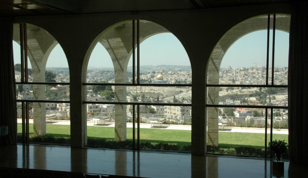 View of Jerusalem from the Brigham Young campus. Photo courtesy of the Tourism Ministry