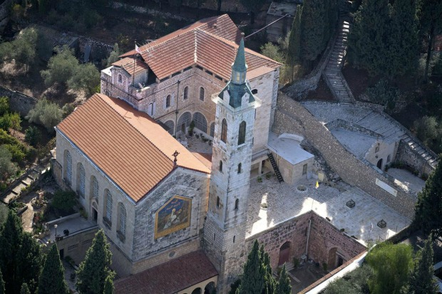 Church of the Visitation, Ein Karem. Photo courtesy of the Tourism Ministry