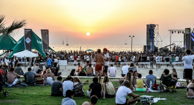 The Herzliya Beach Festival. Photo by Ohr Mani