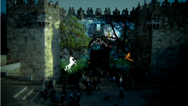 The Jerusalem Light Festival is one of the many happenings that showcases the Old City, for free.
