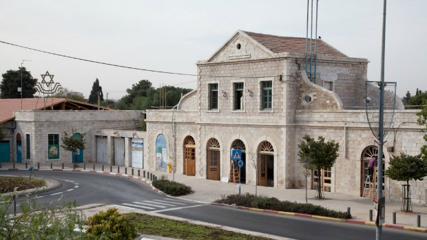 Jerusalem's Old Train Station, renamed The First Station in its new incarnation.