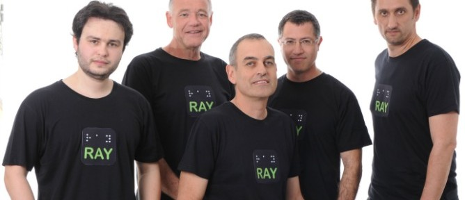 The Project RAY team: Oleg Shnaydman, Boaz Zilberman, Udi Nahum, Arik Siegel and Michael Vakulenko.