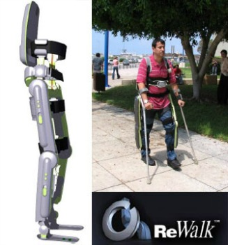 The ReWalk ambulation system.