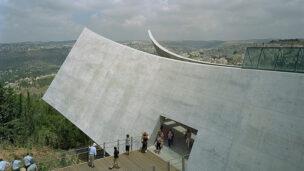 TripAdvisor lists Yad Vashem as the top landmark to visit in Jerusalem. (Photo by Tim Hursley/Safdie Architects).