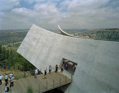 TripAdvisor lists Yad Vashem as the top landmark to visit in Jerusalem. (Photo by Tim Hursley/Safdie Architects).