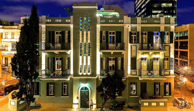 Top 10 boutique hotels in tel aviv israel21c for Great small hotels