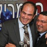 Eli Beer and Murad Alyan are united by their passion for saving lives. Photo courtesy of United Hatzalah of Israel