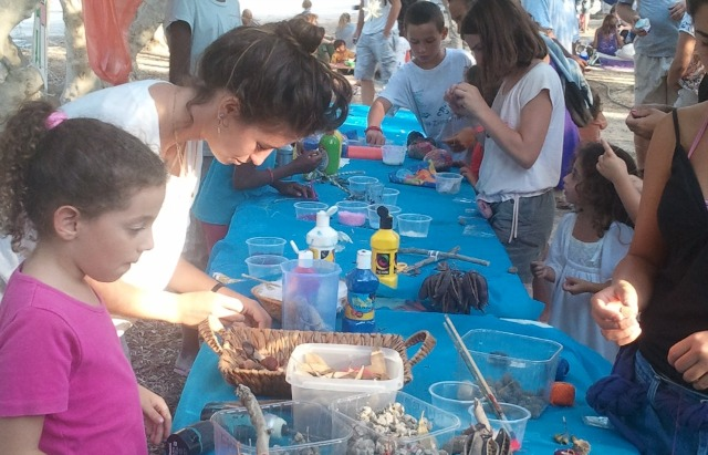 Lots of activities are on tap at the Bustan Festival in Nitzana.