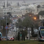 The Light Rail System in Jerusalem. Photo by Flash90.