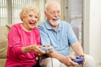 Stroke victims play video games as an alternative to traditional therapy because they're more fun. (Shutterstock)