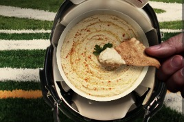 NFL and hummus