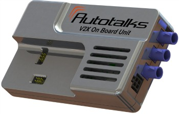 The Autotalks unit could become a standard feature of every new car.