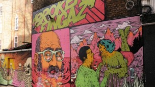 This Broken Fingaz work is found in London. Photo by Unga/Broken Fingaz Crew
