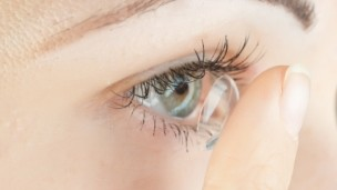 A revolutionary disposable lens to treat corneal edema. Image via Shutterstock