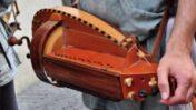 Medieval hurdy-gurdy