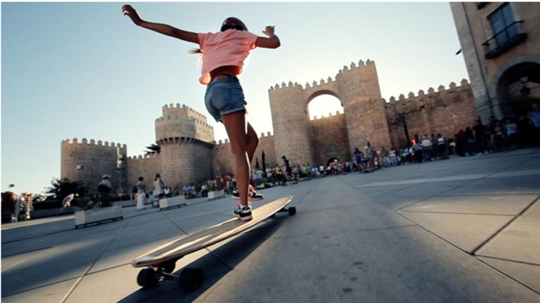 Longboard Girls Crew have skated Europe and now came to shred Israel. (Photo courtesy of LGC)