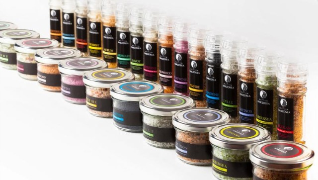The salt-herb mixes come in 15 flavors, with five more to follow.