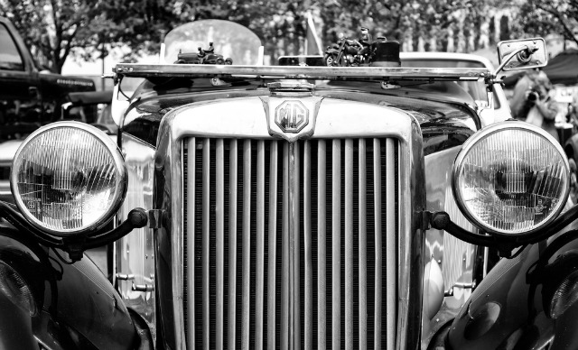 Antique car. Image via shutterstock.com