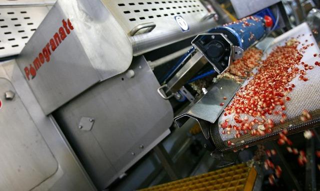 Juran's seed separator at work.