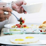 A Tel Aviv University researcher says eating a big Israeli breakfast will keep you healthier. (Shutterstock)