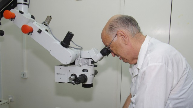 Belkin recently revealed that Israel has markedly reduced rates of preventable blindness. Photo courtesy of Sheba Medical Center at Tel Hashomer.