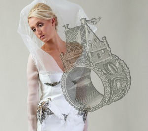 Eyal Ron Meistal was inspired by medieval German wedding rings.