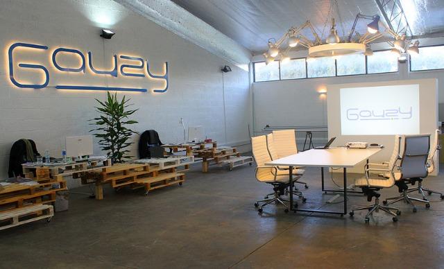 The Gauzy offices.